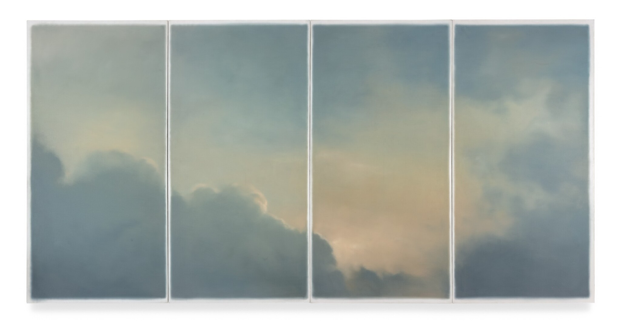 View 1 of Lot 20. GERHARD RICHTER | WOLKEN (FENSTER) (CLOUDS (WINDOW)).