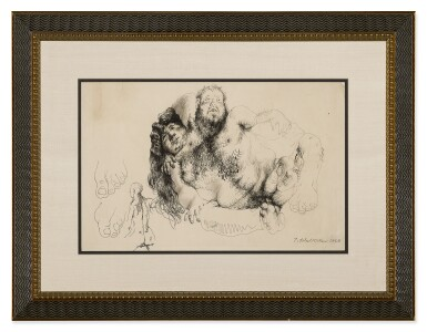 """View 2. Thumbnail of Lot 30. PAVEL TCHELITCHEW 