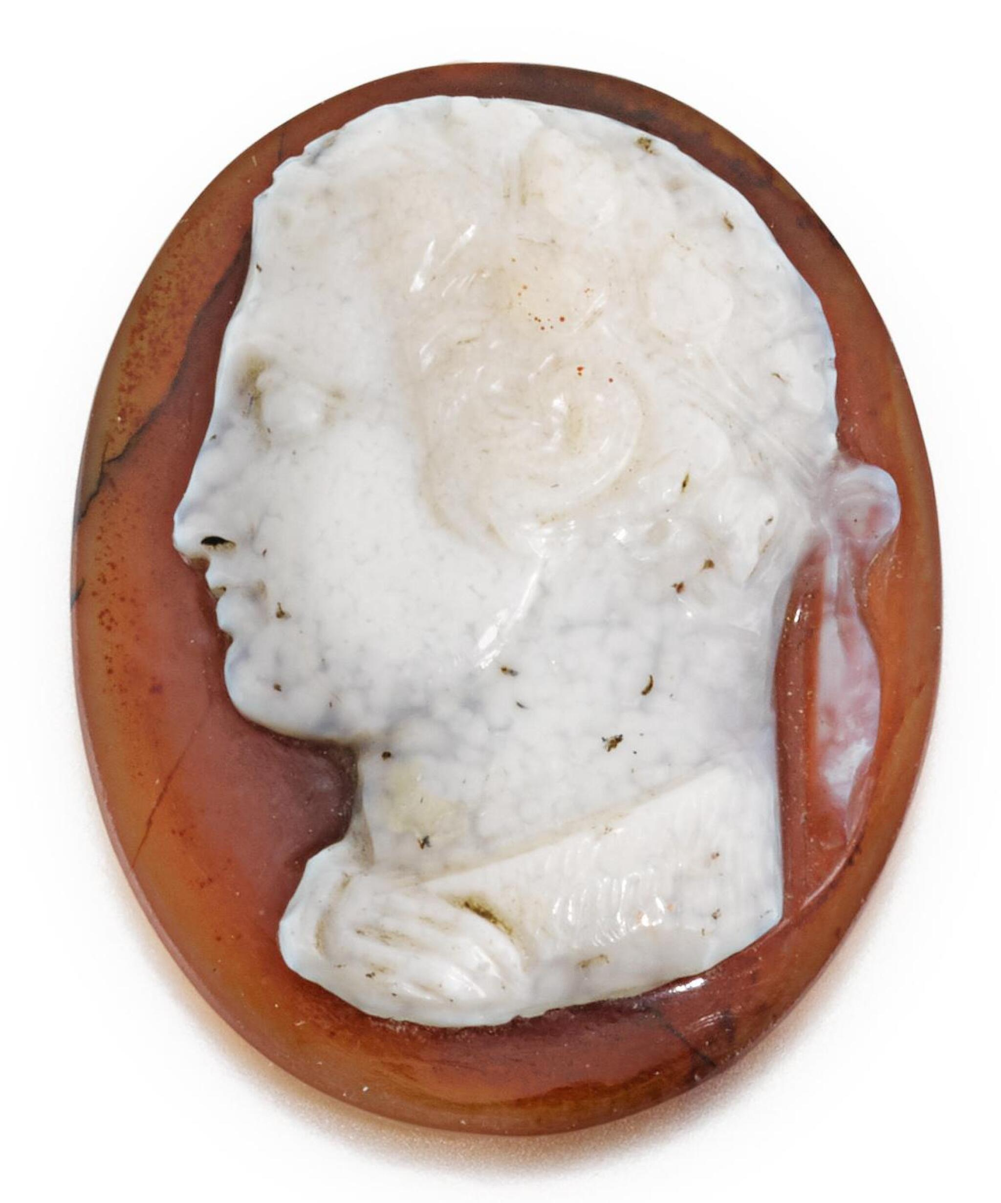 View full screen - View 1 of Lot 94. ITALIAN, PROBABLY 16TH CENTURY | CAMEO OF A JULIO CLAUDIAN PRINCE.