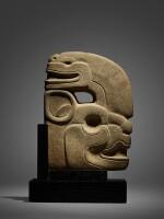 Maya Stone Effigy Hacha Late Classic, circa AD 550 - 950