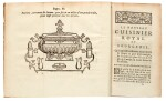 Massialot, Le Nouveau cuisinier royal et bourgeois, 2 volumes, Paris, 1733, [with] Supplément, 1730, calf