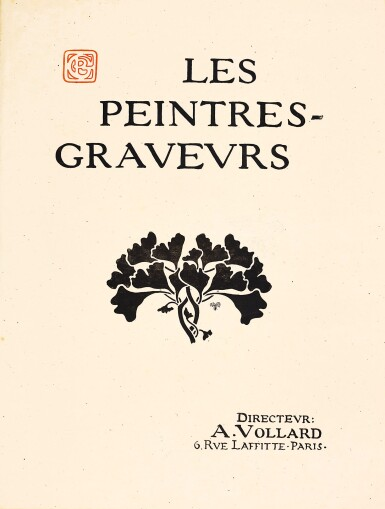 View 2. Thumbnail of Lot 112. PORTFOLIO  LES PEINTRES-GRAVEURS (CF. JOHNSON PP. 127-155).