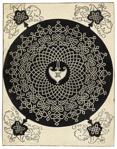 View 5. Thumbnail of Lot 30.  ALBRECHT DÜRER  |  INTERLACED CORD PATTERNS (B. 140, 142-143, 145; M. 274, 276-277, 279).