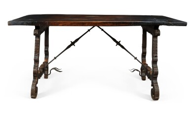 View 3. Thumbnail of Lot 139. A SPANISH WALNUT CENTRE TABLE, 17TH CENTURY.
