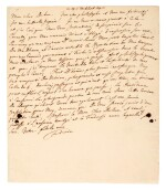 FREDERICK II | autograph letter signed, about the Battle of Hohenfriedberg and being a Philosopher King, 1745