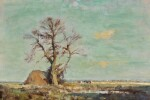 EDWARD SEAGO, R.W.S. | THE BLASTED OAK NEAR BLAKENEY, NORFOLK