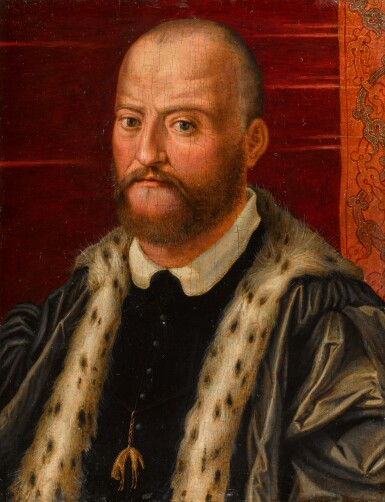 View 1. Thumbnail of Lot 107. Portrait of Cosimo I de' Medici, Grand Duke of Tuscany (1519-74), bust-length.