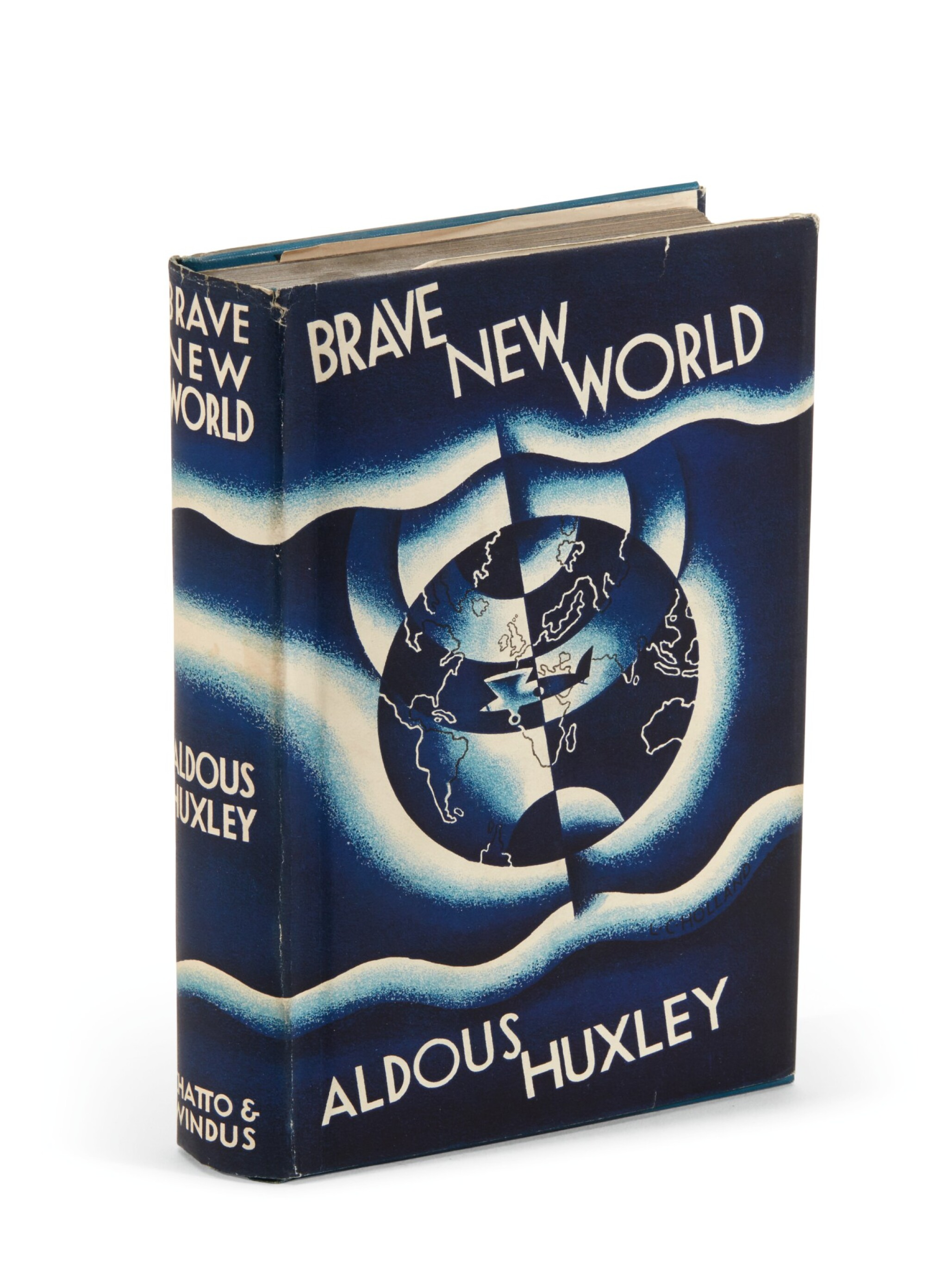 View full screen - View 1 of Lot 101. Huxley, Brave New World, 1932 .