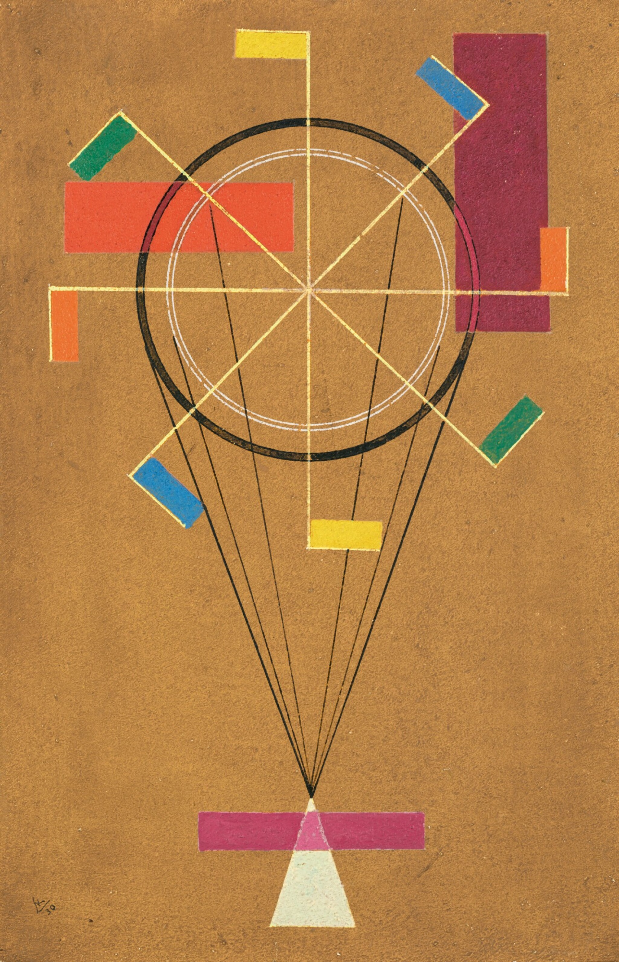 View full screen - View 1 of Lot 18.  WASSILY KANDINSKY | FIDEL (JOLLY).