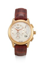 GLASHÜTTE | PANOGRAPH, RERERENCE G16101010104, A PINK GOLD FLYBACK CHRONOGRAPH WRISTWATCH WITH DATE AND POWER RESERVE INDICATION, CIRCA 2005