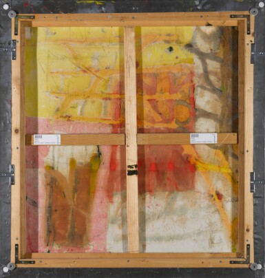 View 3. Thumbnail of Lot 35. Untitled (Yellow- Red Composition).