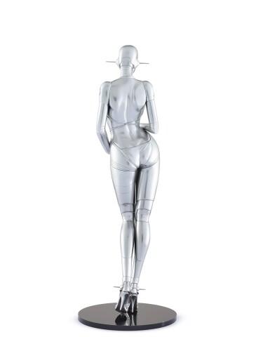 View 2. Thumbnail of Lot 9034.  空山基 Hajime Sorayama | 性感機器人 ─ 站立型號A Sexy Robot - Standing Model A.