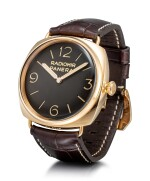 PANERAI | RADIOMIR 3 DAYS ORO ROSA, REFERENCE PAM00379 A LIMITED EDITION PINK GOLD WRISTWATCH, CIRCA 2011