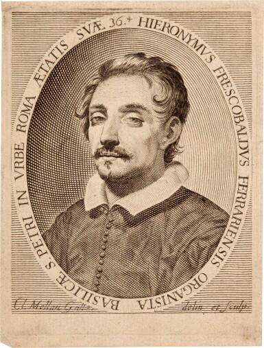 View 2. Thumbnail of Lot 36. G. Frescobaldi. Toccate d'intavolatura di cimbalo et organo...Libro P[rimo], fifth edition, 1637.