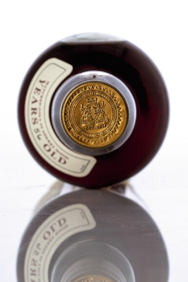 View 3. Thumbnail of Lot 5521. The Macallan Fine & Rare 56 Year Old 44.3 abv 1946 (1 BT70).