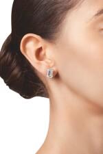 PAIR OF DIAMOND EARRINGS, TIFFANY & CO. | 鑽石耳環一對,蒂芙尼