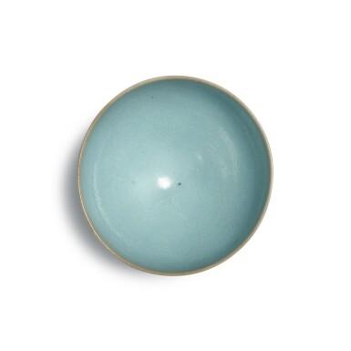 View 5. Thumbnail of Lot 193. A 'Jun' deep bowl, Northern Song / Jin dynasty | 北宋 / 金 鈞窰天藍釉盌.