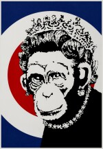 BANKSY | MONKEY QUEEN