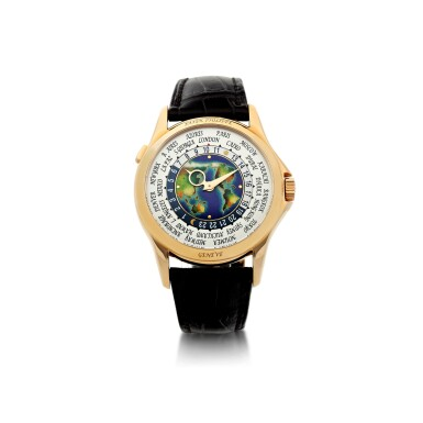 View 1. Thumbnail of Lot 59. REFERENCE 5131R-011 A FINE PINK GOLD AUTOMATIC WORLD TIME WRISTWATCH WITH CLOISONNE ENAMEL DIAL, CIRCA 2017.