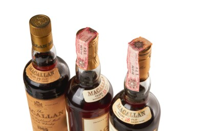 View 3. Thumbnail of Lot 18. THE MACALLAN 18 YEAR OLD 43.0 ABV 1967 .