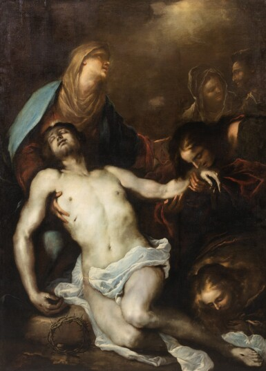 View 1. Thumbnail of Lot 24. The Lamentation of Christ.