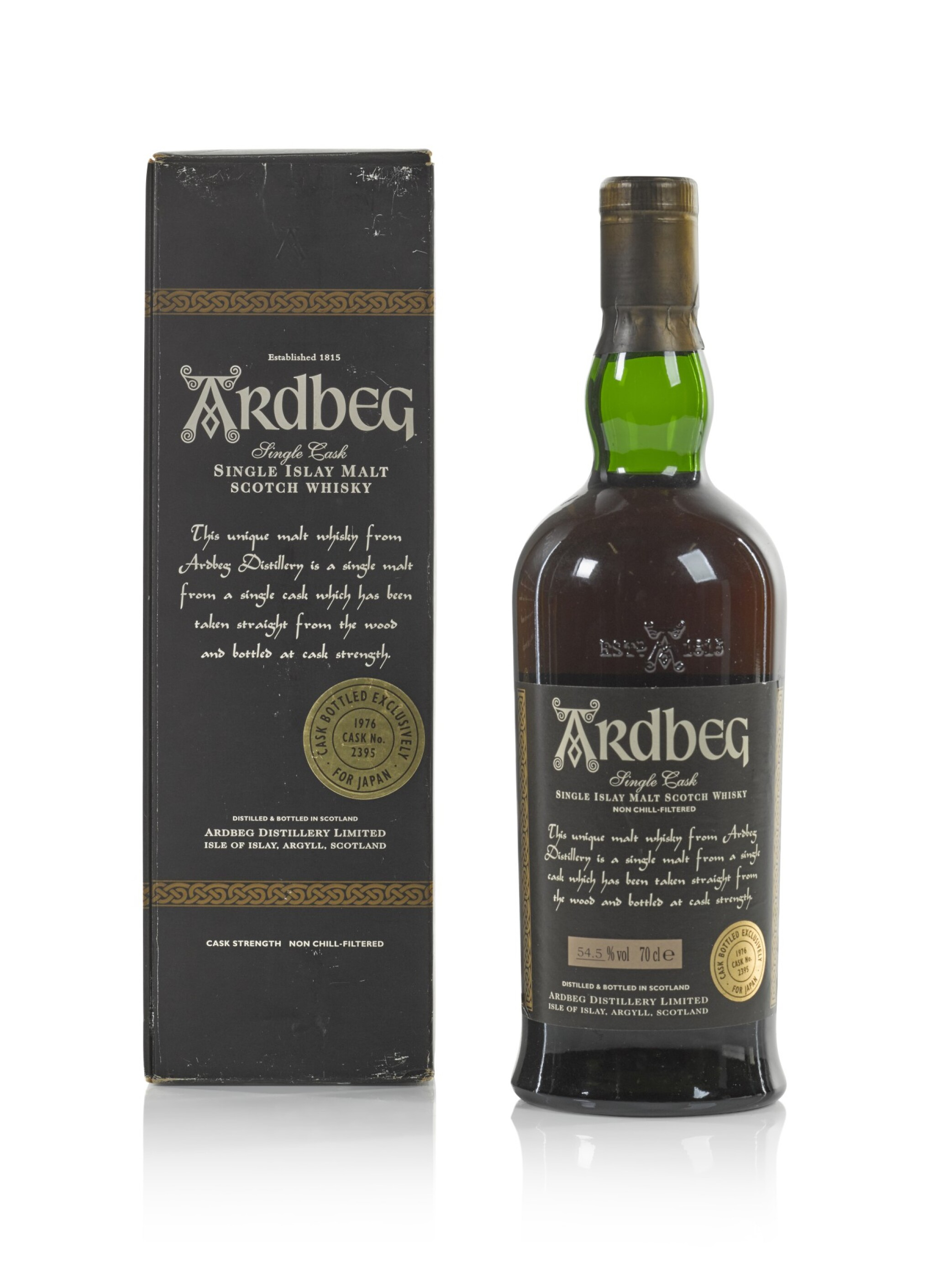 View 1 of Lot 24. Ardbeg Single Cask #2395 54.5 abv 1976 .
