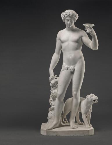 FILIPPO GNACCARINI | BACCHUS WITH A PANTHER