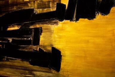 View 2. Thumbnail of Lot 1034. Pierre Soulages 皮耶・蘇拉吉 | Peinture 125 x 202 cm, 30 Octobre 1958 畫作 125 X 202厘米,1958年10月30日.