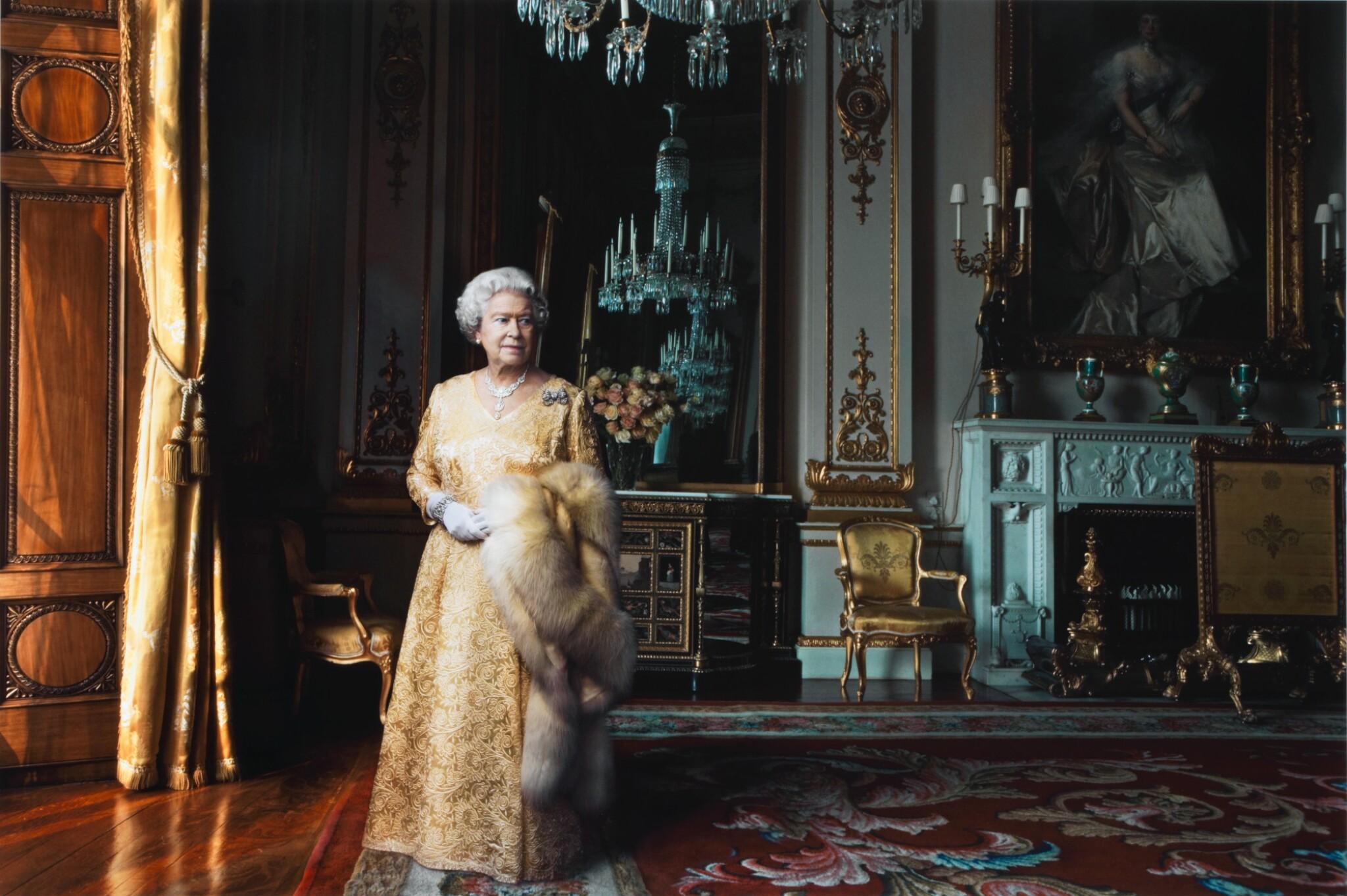 View full screen - View 1 of Lot 118. Queen Elizabeth II, Buckingham Palace, London.
