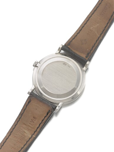 View 3. Thumbnail of Lot 22. PATEK PHILIPPE | REF 5022G, A WHITE GOLD WRISTWATCH MADE IN 2000.