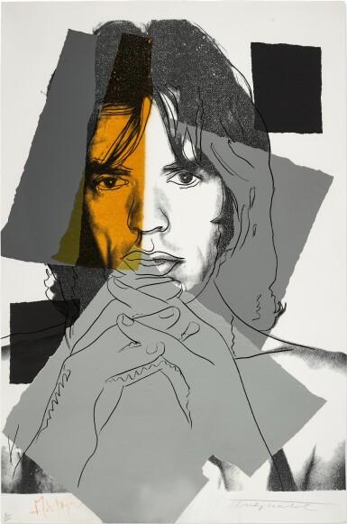 View 1. Thumbnail of Lot 85. Mick Jagger (F. & S. II.147).