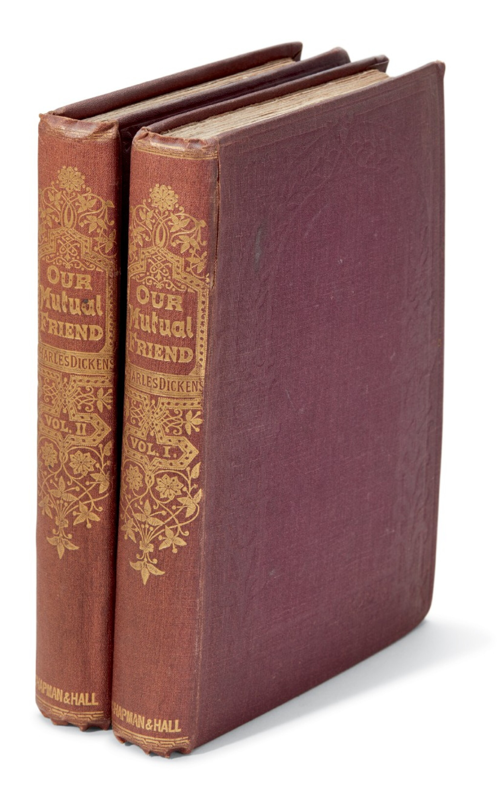 Dickens Our Mutual Friend 1865 First Book Edition Charles Dickens The Lawrence Drizen Collection Books Manuscripts Sotheby S