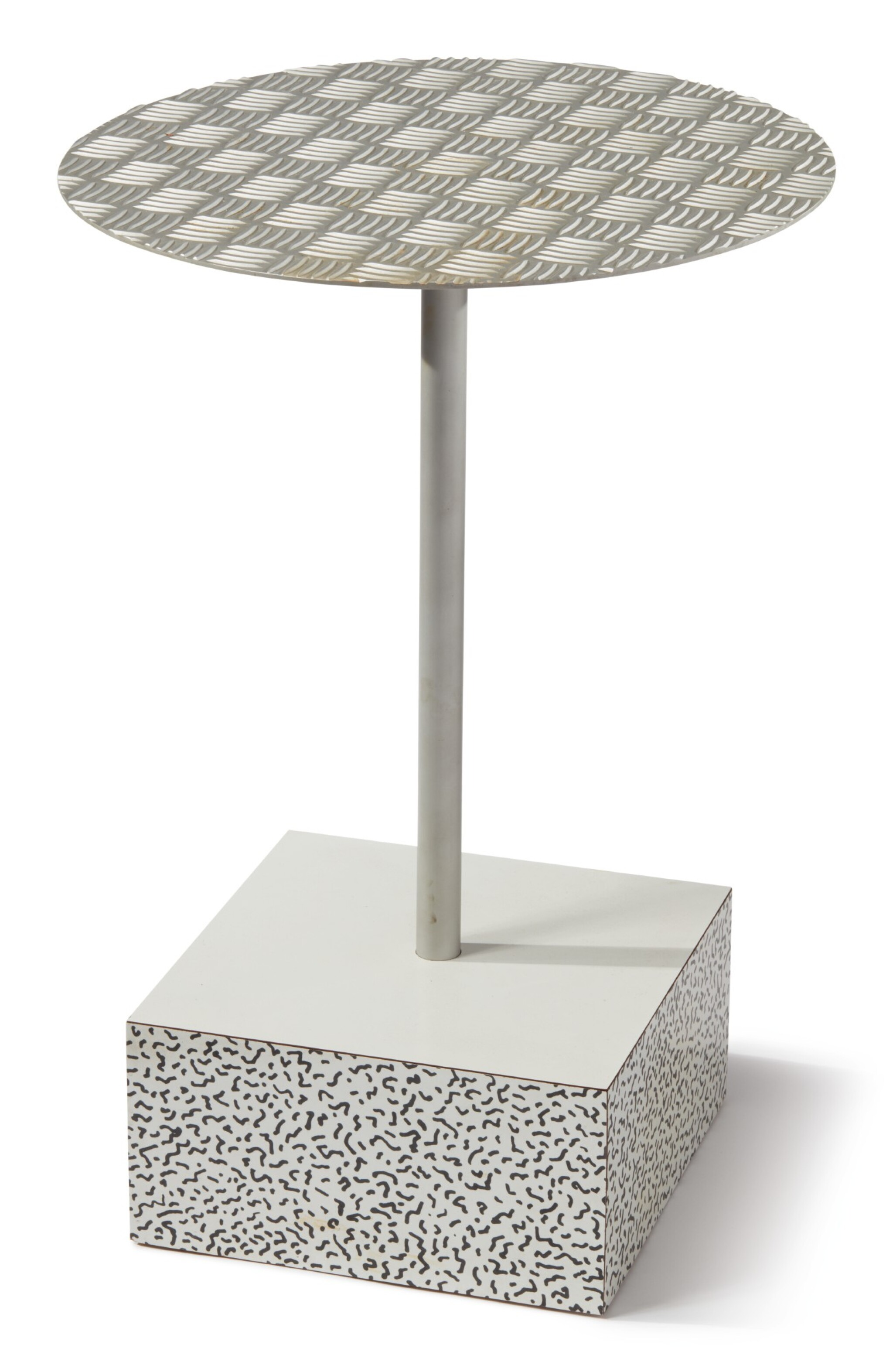 """View full screen - View 1 of Lot 20. ETTORE SOTTSASS   """"PRIMAVERA"""" SIDE TABLE."""