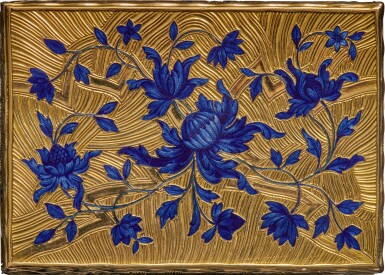 View 5. Thumbnail of Lot 14. A gold and enamel snuff box, Anders Liedberg, Stockholm, circa 1763.