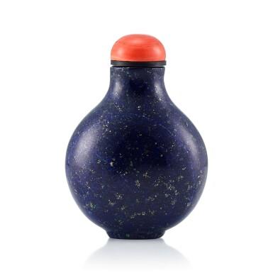 View 1. Thumbnail of Lot 3013. A Lapis Lazuli Snuff Bottle Qing Dynasty, 18th - 19th Century | 清十八至十九世紀 青金石鼻煙壺.