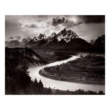 ANSEL ADAMS   THE GRAND TETONS AND THE SNAKE RIVER, GRAND TETON NATIONAL PARK, WYOMING