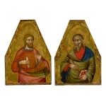 MASTER OF TEPLICE   SAINT ANDREW AND A MALE SAINT