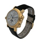JAEGER-LECOULTRE     GRAND REVÉIL, REF 180.1.99   YELLOW GOLD PERPETUAL CALENDAR WRISTWATCH WITH ALARM, MOON PHASES, 24-HOUR AND YEAR INDICATION    CIRCA 1995