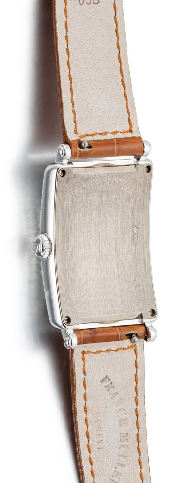 View 3. Thumbnail of Lot 106. FRANCK MULLER | LONG ISLAND, REFERENCE 952 QZ SNR D CD, A WHITE GOLD AND DIAMOND-SET WRISTWATCH WITH MOTHER-OF-PEARL DIAL, CIRCA 2018.