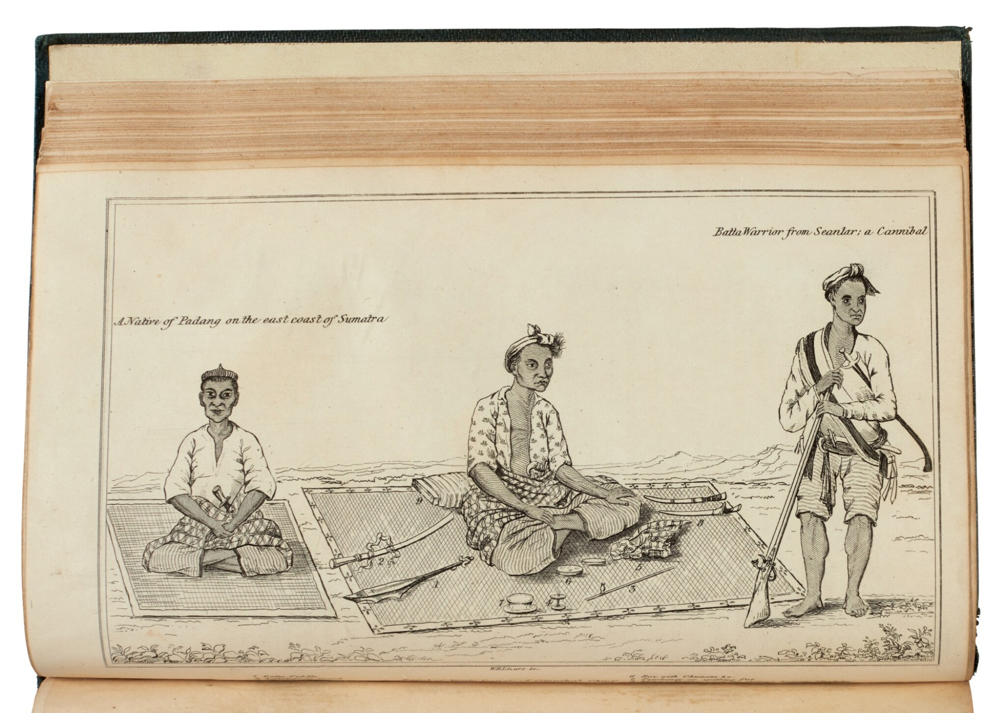View full screen - View 1 of Lot 160. John Anderson   Mission to the east coast of Sumatra, 1826, Brooke-Hitching copy.