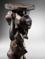 Siège caryatide, Hemba / Luba, République Démocratique du Congo | Caryatid stool, Hemba / Luba, Democratic Republic of the Congo