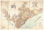 Constantinople, map of Beyoğlu (Pera), c.1924