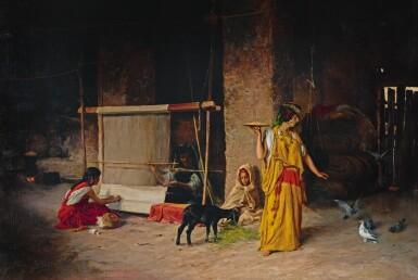 EUGÈNE GIRARDET   THE WEAVERS