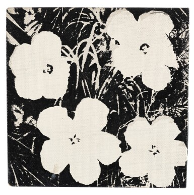 View 1. Thumbnail of Lot 16. ANDY WARHOL   FLOWERS.