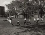 Drum Major and Children, University of Michigan, Ann Arbor