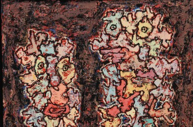 View 2. Thumbnail of Lot 32. JEAN DUBUFFET | LE MESSAGER.