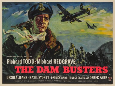 THE DAM BUSTERS (1954) POSTER, BRITISH