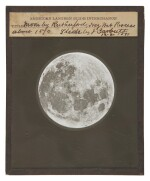 "Lewis Morris Rutherfurd. ""Moon by Rutherfurd,"" Glass Lantern Slide, 21 December, 1891"