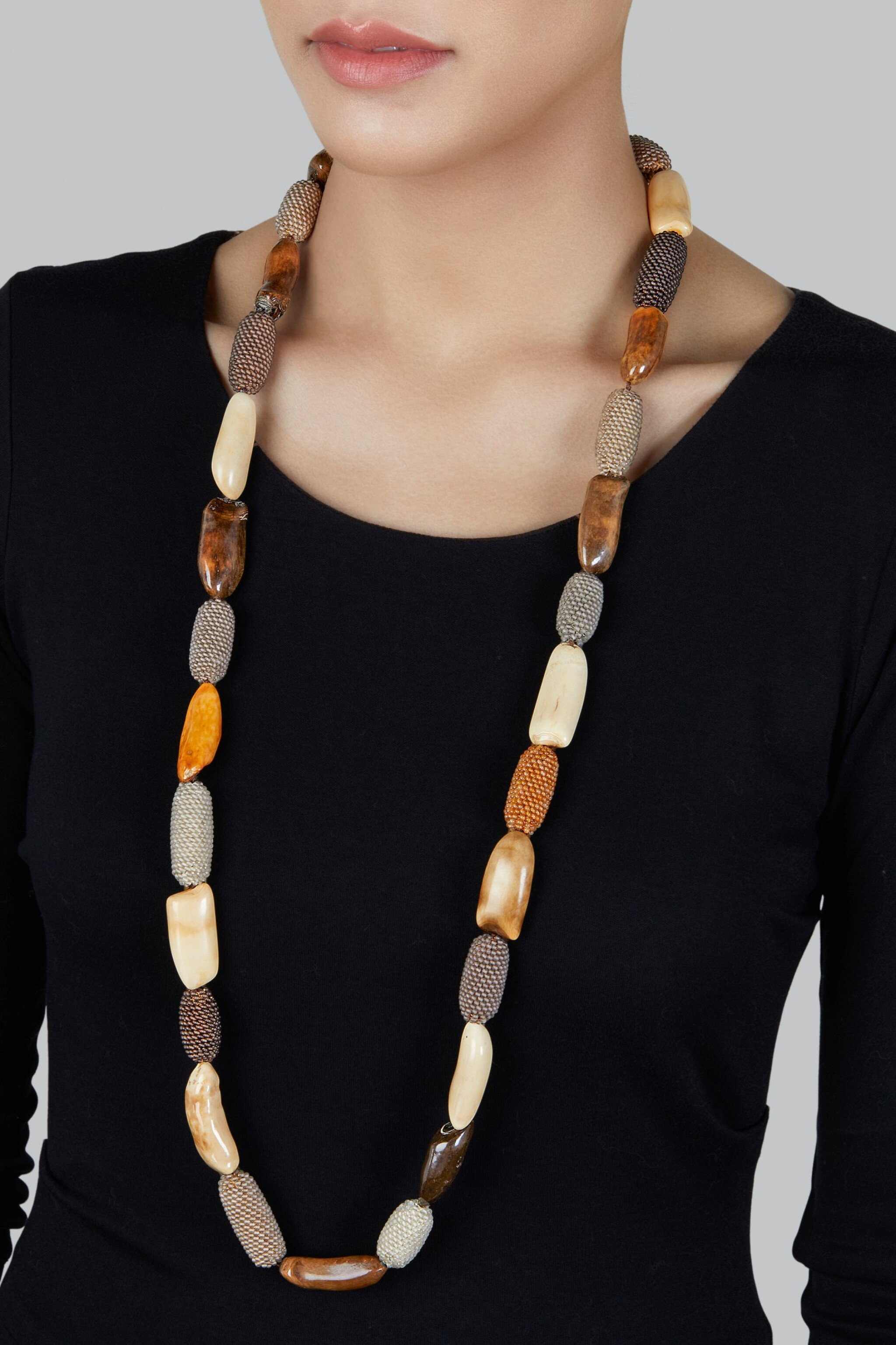 Antique Walrus Teeth Quartz And Carnelian Bead Necklace A Vision The Collection Of Michelle Smith Sotheby S