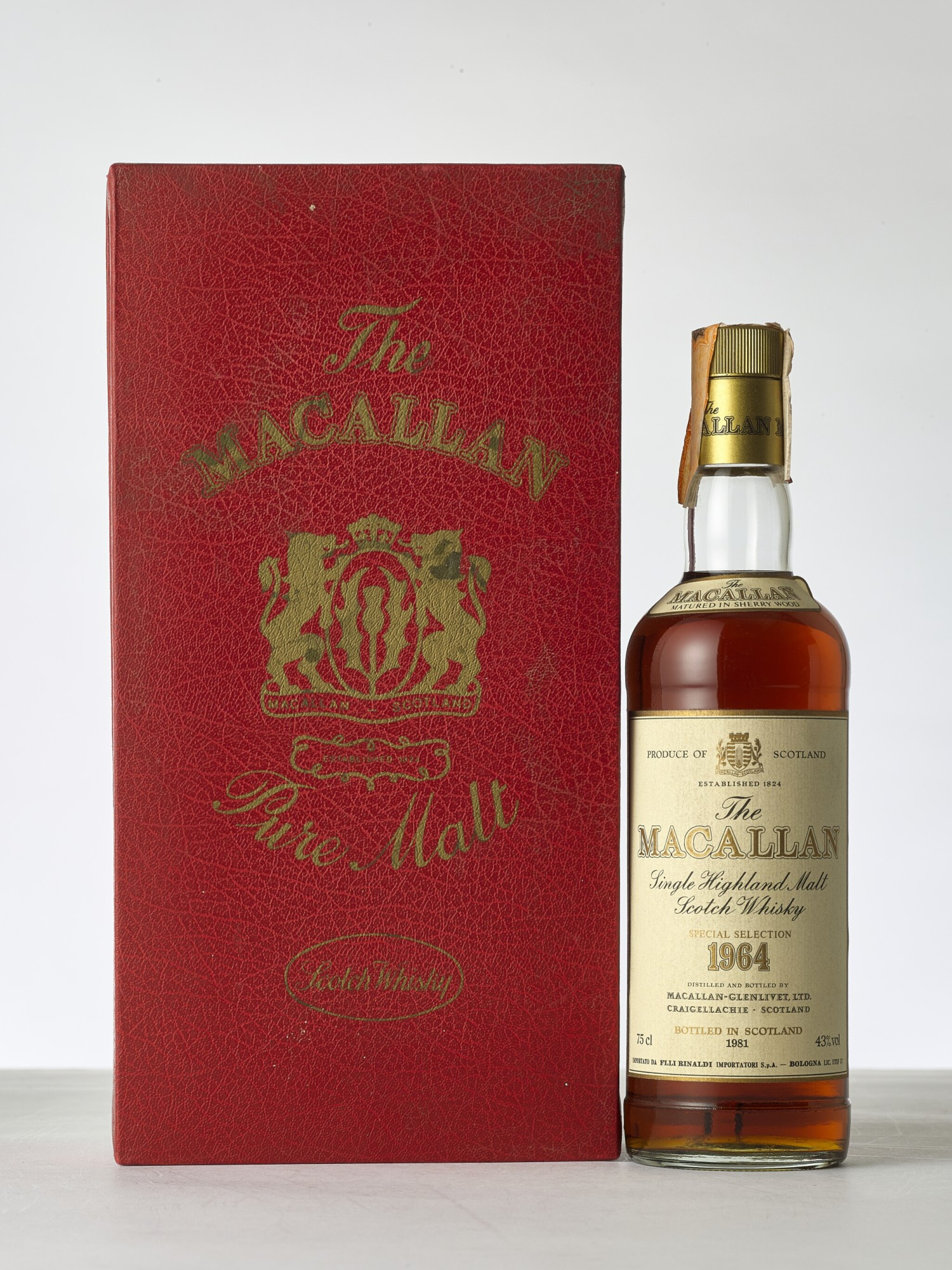 View full screen - View 1 of Lot 2005. The Macallan 1964 (1 BT).